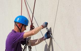 sécurité travaux sur cordes