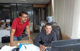 Armenio épaule notre nouvel entrant Laurent
