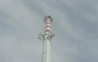 Installation d'une ligne de vie verticale en milieu industriel (Oise)